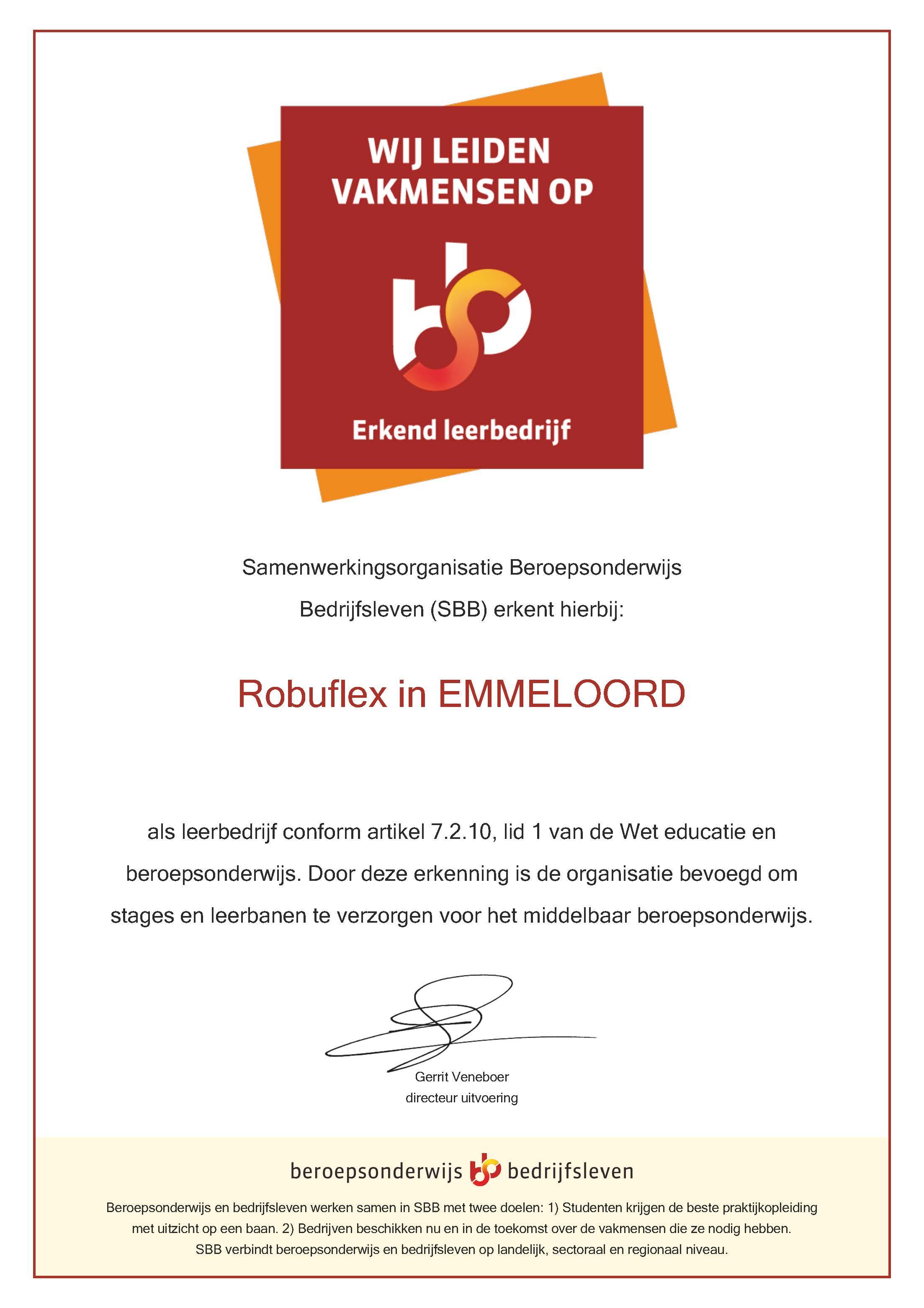 Erkenningsbewijs_SBB_Robuflex